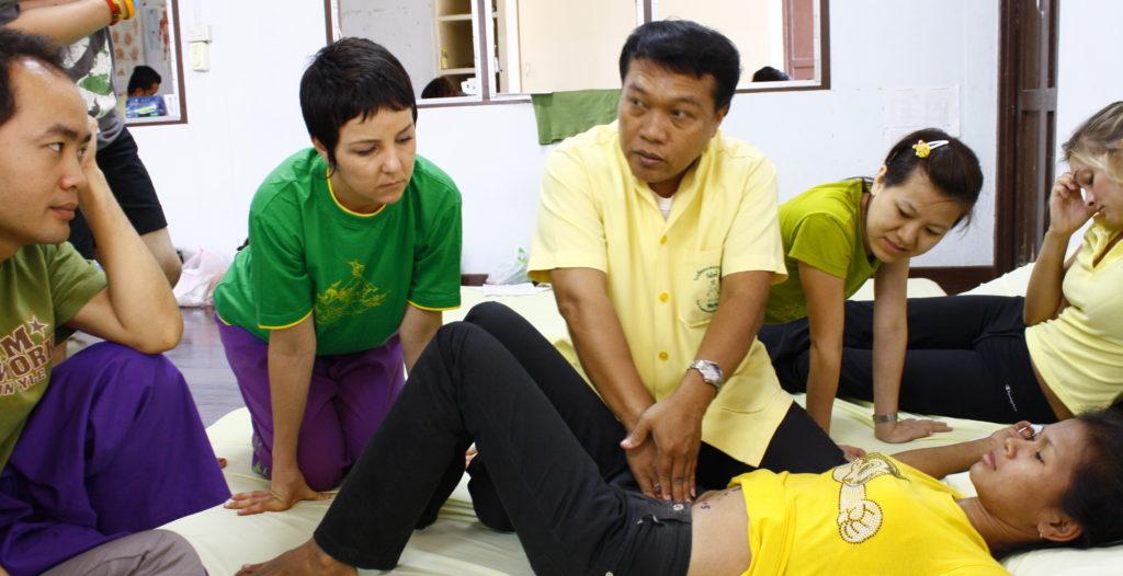 Wat Po Massage Courses